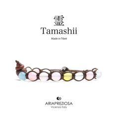 Tamashii - Bracciale Tradizionale Tibetano realizzato con pietre naturali MIX DI AGATE