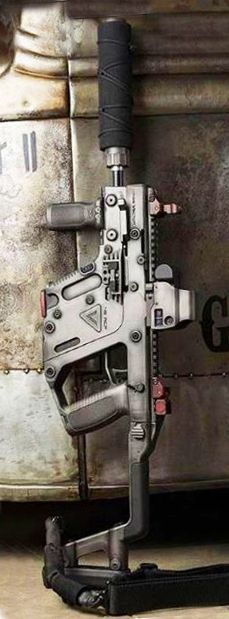 KRISS Vector series is a family of weapons based upon the parent submachine gun design developed by KRISS USA, formerly Transformational Defense Industries (TDI). They use an unconventional delayed blowback system combined with in-line design to reduce perceived recoil and muzzle climb #Firearm #submachinegun