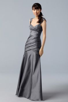 I like the silhouette of this dress. Longer and much more formal, though.