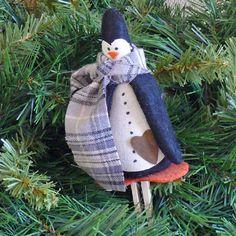 Handmade #Christmas #Penguin #Ornament #Christmas #handmade #thecraftstar $8.00