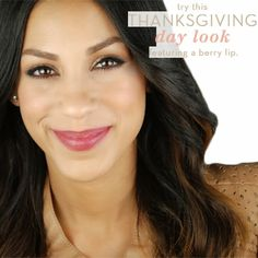 glo How-To: Easy Thanksgiving Day Look