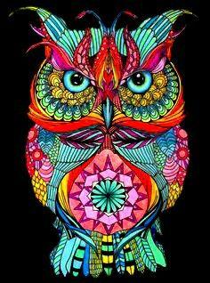 Mandala Art, Cute Owls Wallpaper, Owl Coloring Pages, Owl Artwork, Owl Pictures, Beautiful Owl, Owl Crafts, Dot Painting, Bird Art