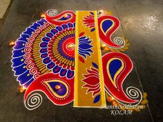 Rangoli Designs Latest, Latest Rangoli, Rangoli Designs Diwali, Rangoli Designs Images, Mehndi Art Designs, Beautiful Rangoli Designs, Diya Rangoli, Indian Rangoli, Flower Rangoli