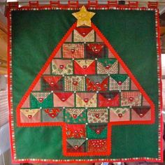 Looking for quilting project inspiration? Check out Advent Tree by member Thread Queen. - via @Craftsy