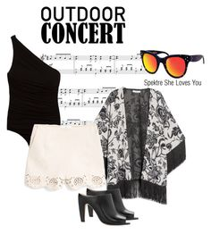 """""""Outdoor concert in style"""" by smartbuyglasses ❤ liked on Polyvore"""