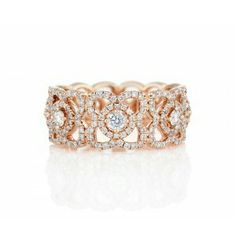 Band in pink gold
