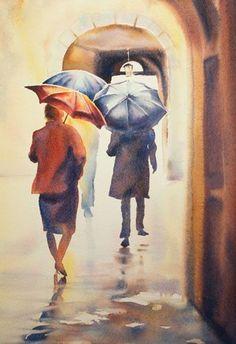 Aquarelles personnages - Aquarelle Marichalar Watercolor