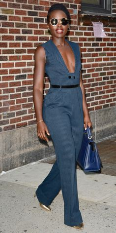 Lupita Nyong'o Brings #GirlBoss Coolness to a Wall Street Classic