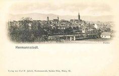 Sibiu - 1900 Paris Skyline, Times, City, Travel, Viajes, Cities, Destinations, Traveling, Trips