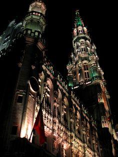 Brussels Grand'Place. Photo: Aubrey Sun