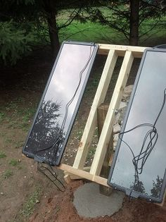 How to Build a Simple Solar Panel Mount