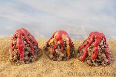 Volcano Rice Crispy Treats - Inspired by Disney Pixar's short Lava