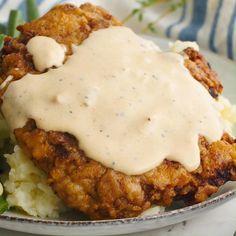 Chicken Fried Steak Easy, Fried Chicken Recipes, Cheesy Recipes, Mexican Food Recipes, Beef Dishes, Food Dishes, Cooking Recipes, Comfort Food Recipes, Comfort Foods