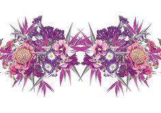 Poster Feminino Pink Floral - FOLC