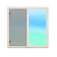 Elegant Slider Basement Windows