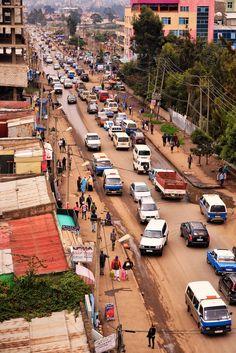 https://flic.kr/p/qdmESG | Central Addis Ababa, Ethiopia