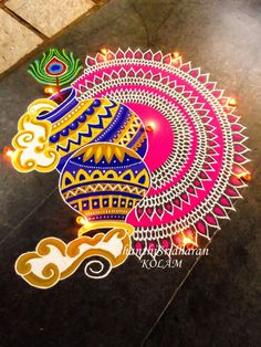 51 Diwali Rangoli Designs Simple and Beautiful Best Rangoli Design, Indian Rangoli Designs, Simple Rangoli Designs Images, Rangoli Designs Latest, Rangoli Designs Flower, Rangoli Border Designs, Latest Rangoli, Small Rangoli Design, Rangoli Patterns