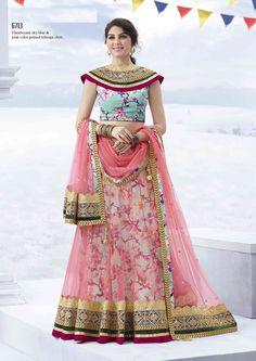 Pretty Pink Lehenga Choli