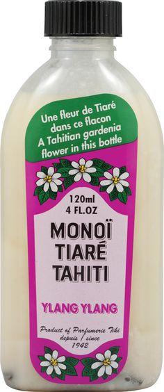Monoi Tiare Tahiti Ylang Ylang Scented Coconut Oil
