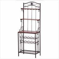 Bakers Rack Wine Storage Rack  $144.95