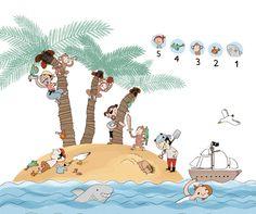 Summer Activity Book - martaaltes.com Summer Activities, Book Activities, Children's Literature, Illustrations, Books, Libros, Book, Illustration, Book Illustrations