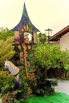 Rapunzel + Tangled Inspired Birthday Party via Kara's Party Ideas | The Place for All Things PARTY! KarasPartyIdeas.com (16)