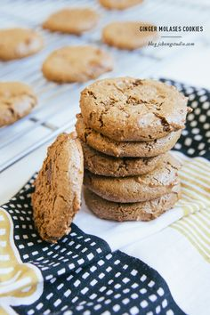 Ginger Molases Cookies
