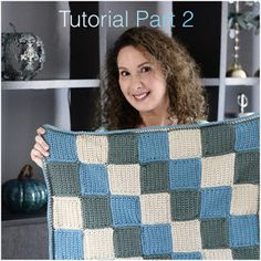 Annoo's Crochet World: Baby Blanket Tutorial Part 2