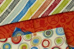 The vibrant Auto collection by Makower UK is coming to independent quilt and fabric shops this July! Click on the picture to find these playful fabrics.