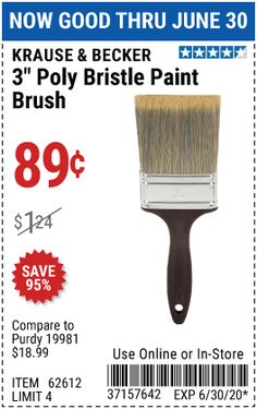 Harbor Freight Tools, Paint Brushes, Painting, Painting Art, Paintings, Painted Canvas, Drawings
