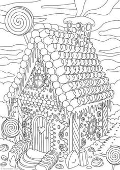 689 Best coloring pages - winter images in 2019 | Coloring ...