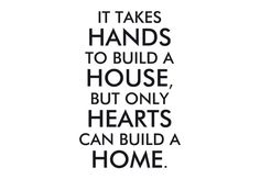 Yes, lots of love went into building our home❤️