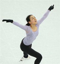20140206 【ソチ五輪】真央、五輪リンクで初練習 いきなり大技着氷 フィギュア