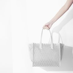 PERFORATED SHOPPER BAG - Woman - NEW THIS WEEK | ZARA Ukraine