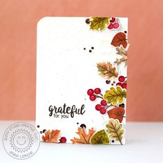 "Annikarten  STAMP BRIGHT COLORS ON KRAFT CS  GREAT CART TO ADD ""SPOTS"", SEQUINS…"