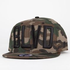 BLVD SUPPLY The Block Mens Snapback Hat