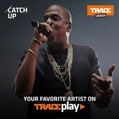 Retrouvez tous vos artistes préférés en téléchargeant l'application #traceplay
