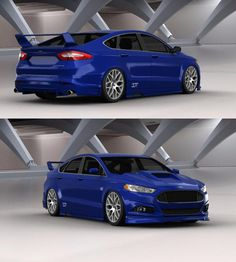tuning of the Ford Mondeo sedan '15