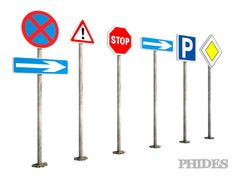 Street signs 1 | 3D Model