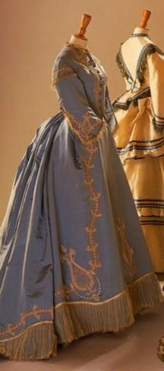 ~A dress from the late 1860s, early 1870s~