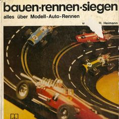 Bauen rennen siegen. German book. Very rare.