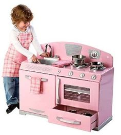 KidKraft Pink Retro Stove- great find for the kiddos @ GW