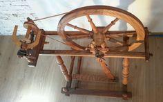 Altes-SPINNRAD, Dachbodenfund, Herkunft unbekannt, für Sammler o. Dekoration in Antiquitäten & Kunst, Alte Berufe, Spinner | eBay