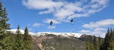 Have you ever tried Summer Zip Line Adventures? Planning a trip to Colorado this summer, then mark your wish list with zip-line adventures.