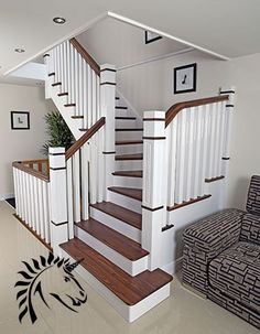 1000 Images About Stairs In Residential Homes On Pinterest Stairs Banisters And Wood Stair
