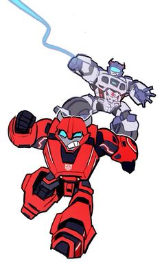 WFC Jazz and Cliffjumper, that game is so fun, I love playing as jazz and cliff :3