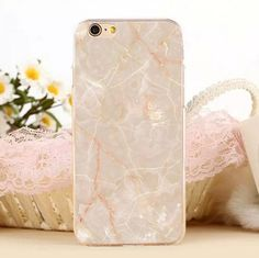 New Marble Stone Protect Case Cover for Apple iPhone 5s 5 SE 6 6S 6 Plus 6S Plus +Nice Gift Box DC080701