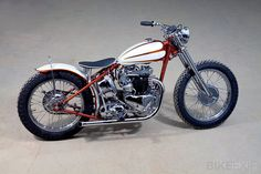 triumph 6T custom by baron's...