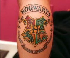 As melhores tatuagens inspiradas na saga de Harry Potter : Garotas ...