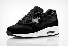 "Nike Air Max 1 VT ""Black Patent"""